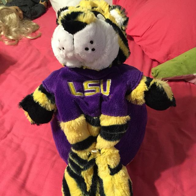 Find More Lsu Mike The Tiger Hideaway Pet For Sale At Up To 90 Off