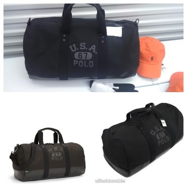 Best New Mens Polo Ralph Lauren Canvas Black Loft Duffel Gym Travel Bag for  sale in Galveston County 122f7f1f18cf2
