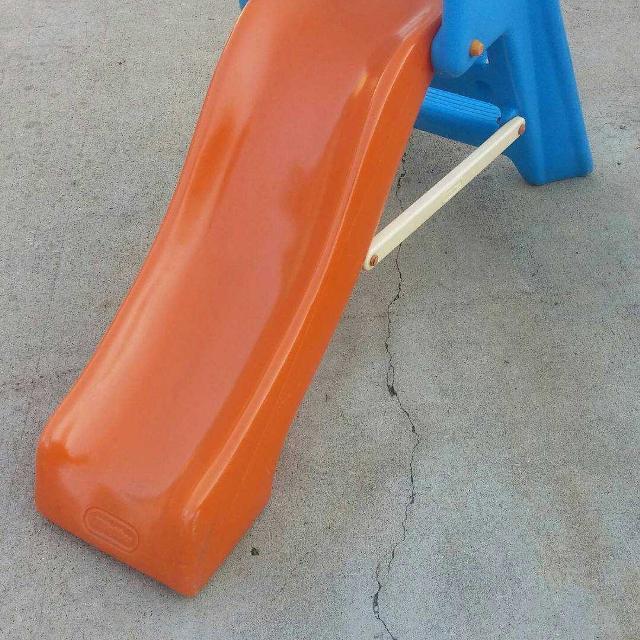 Little Tikes Orange Slides : Find more little tikes orange and blue toddler slide for