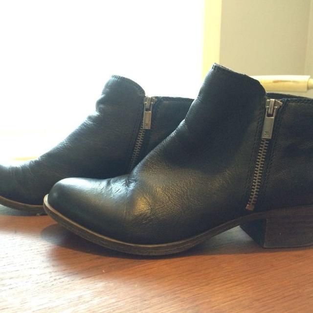 ee1508bb7 Best Brand New And Price Reduced! Lucky Brand Basel Flat Bootie- Black 7.5  for sale in Spring, Texas for 2019