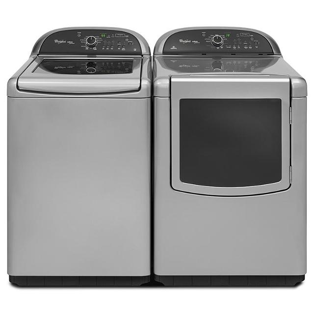 Best Grey Whirlpool Cabrio Washer And Gas Dryer Almost New