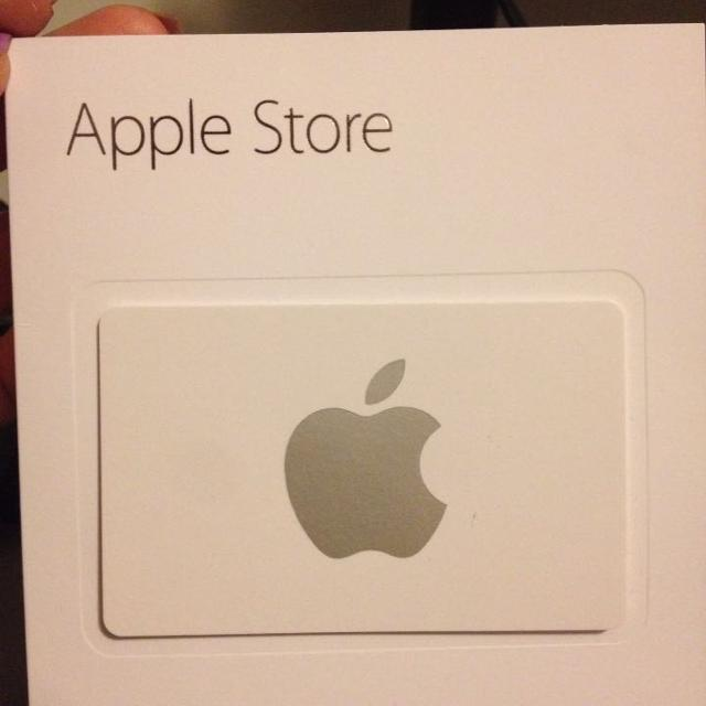 $300 Apple Store Gift Card for cash