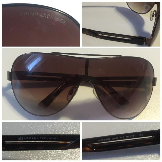 2481b33c38fb Find more Authentic A|x Armani Exchange Aviator Sunglasses- Model ...