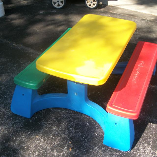 Find more fisher price childrens picnic table for sale at up to 90 off fisher price childrens picnic table watchthetrailerfo