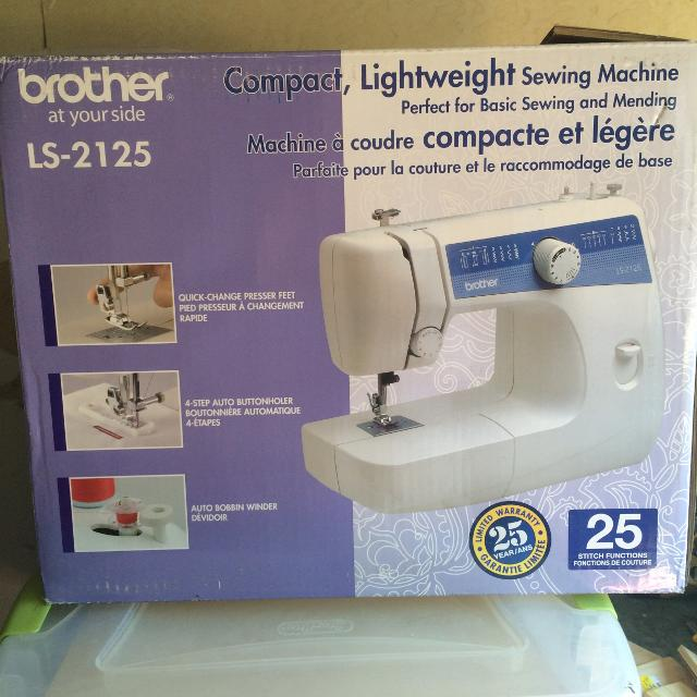 Find More Brother Ls 40 Sewing Machine For Sale At Up To 40% Off Magnificent Brother Sewing Machine Ls2125