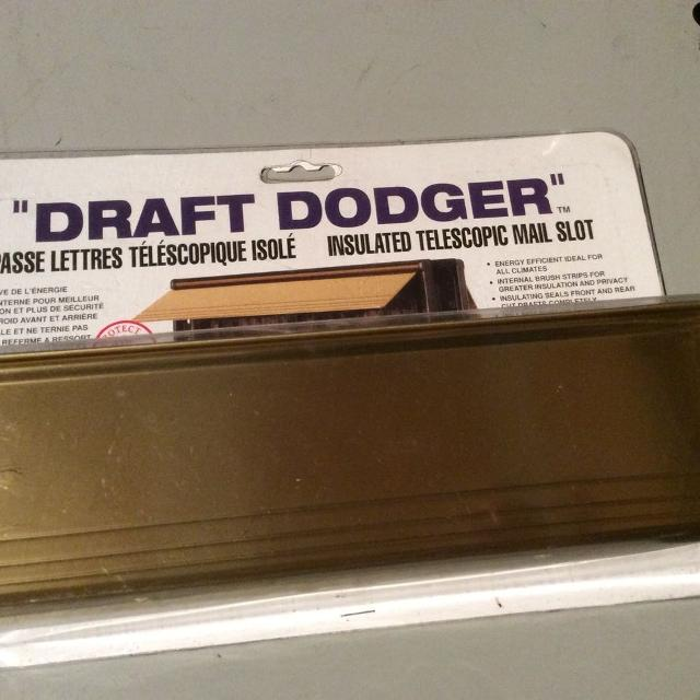 Draft Dodger Insulated Mail Slot