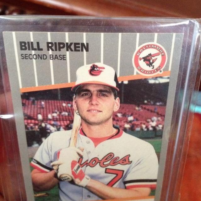 Bill Ripken F Face Error Card