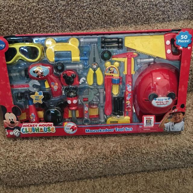 find more new in box mickey mouse tool set for sale at up to 90% off