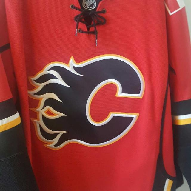 587a848e71f Find more Calgary Flames Official Nhl Jersey for sale at up to 90 ...