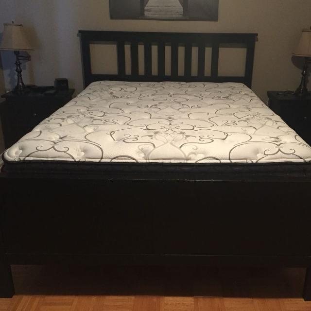 ikea queen hemnes bed frame - Queen Bed Frame For Sale