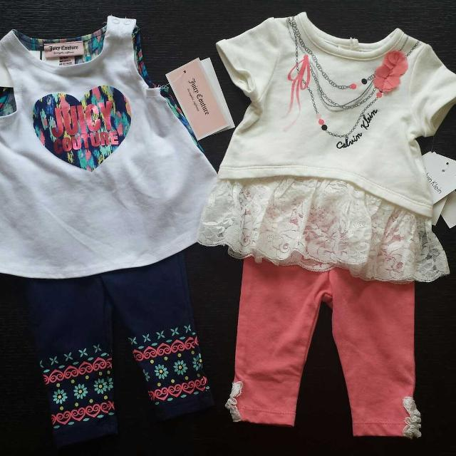 Find more Outfits Baby Girl 0-3 Months Juicy Couture And Calvin ... b732dc83b
