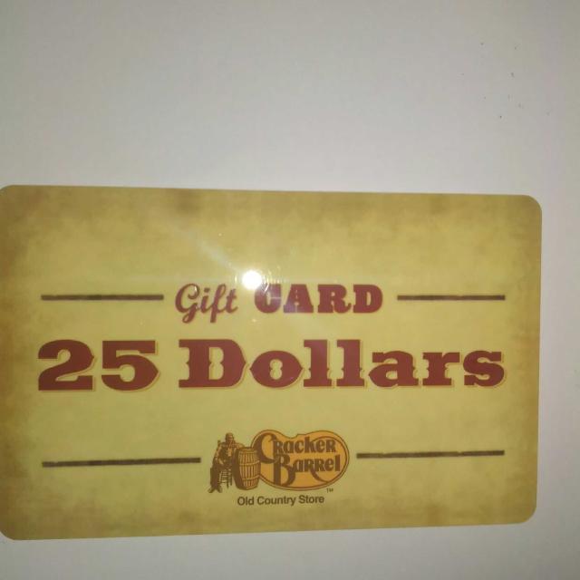 cracker barrel gift card customer service