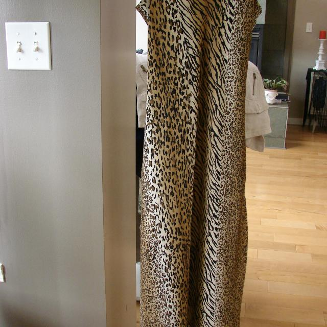 Joseph Ribkoff Animal Print Dress