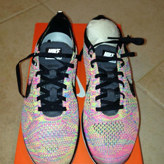f3d68f984be7 Best Limited Edition Nike Flyknit Racers Multi Color Unisex Shoes for sale  in Irvine