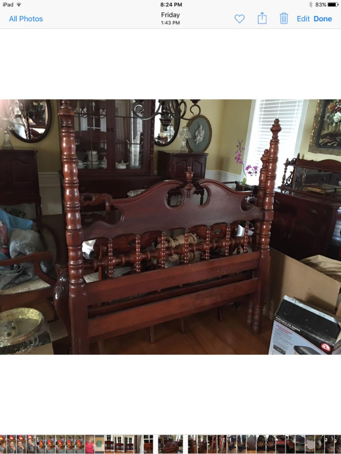 Lillian Russell Bedroom Furniture Find More Davis Cabinet Company Lillian Russell Solid Cherry Bed