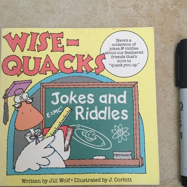 Wise-Quacks: Jokes and Riddles