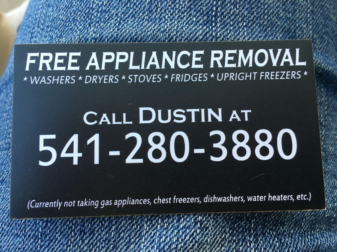 Best Free Appliance Removal for sale in Medford, Oregon for 2019