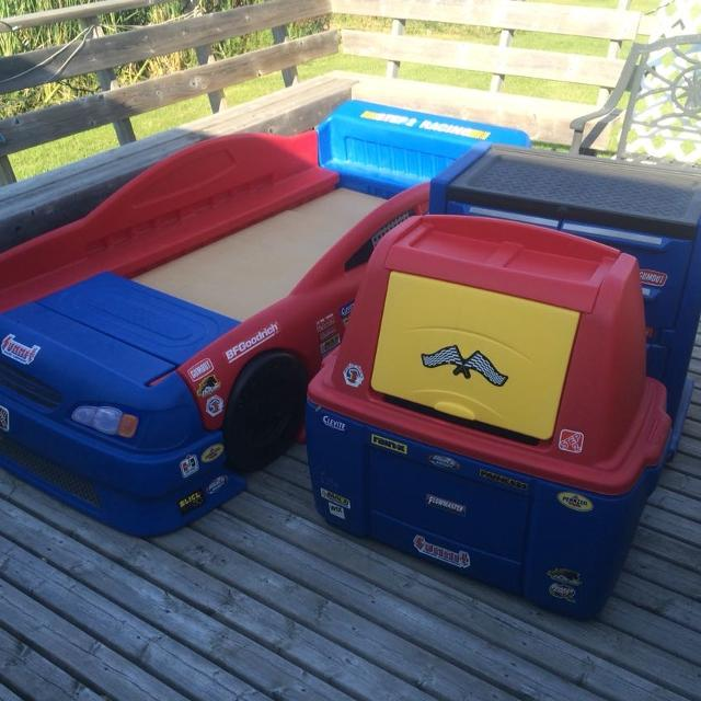 Find More Step2 Stock Car Bed Convertible Bedroom Set For Sale At