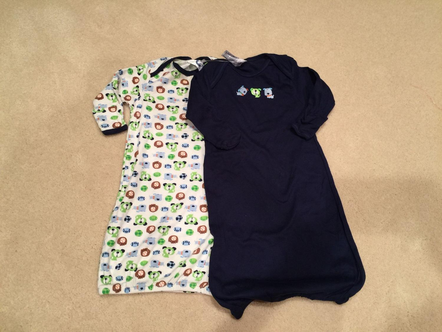 Find more Brand New Gerber Baby Gowns 0-6 Months for sale at up to ...
