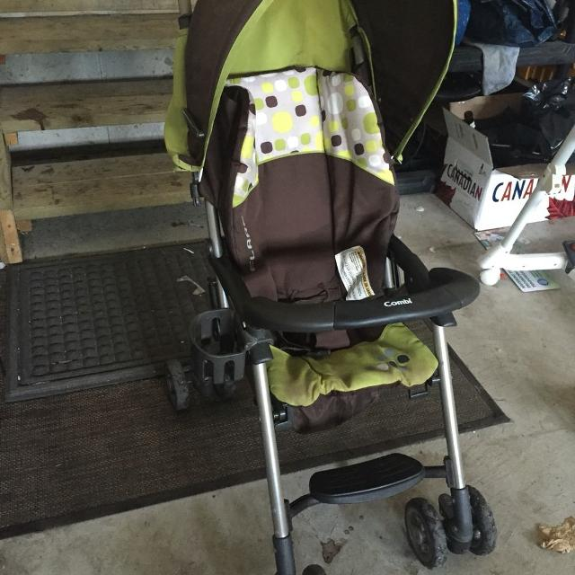 Find more Free- Combi Flare Stroller (needs New Wheel) for sale at ...