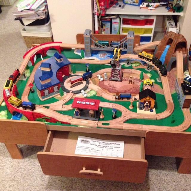 Find more Imaginarium Mountain Rock Train Table Set for sale at up ...