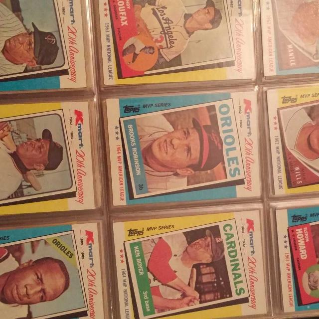Kmart 20th Anniversary Baseball Card Collection