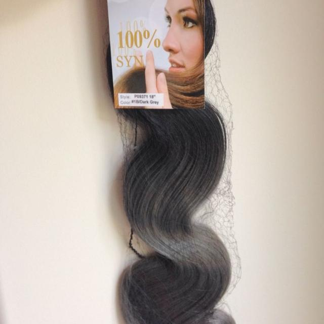Find More Black To Grey Ombr Hair Extensions For Sale At Up To 90 Off