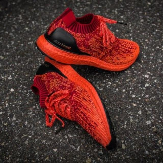 e55193ce9 Find more Adidas Ultra Boost Uncaged Triple Solar Red for sale at up ...