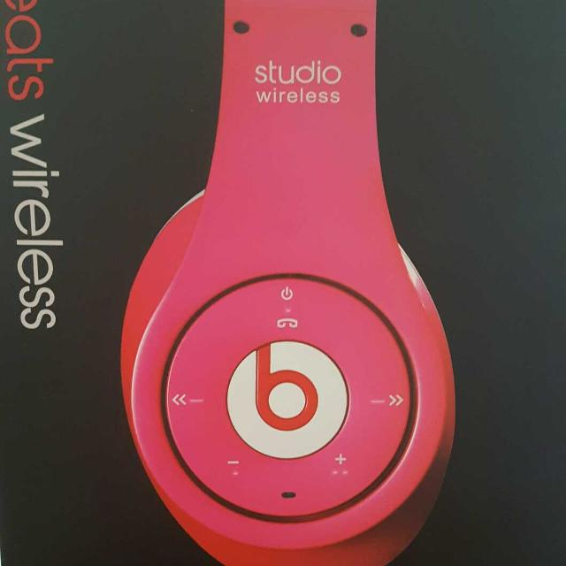 Find more Pink Studio Wireless Beats By Dre Headphones for sale at ... ebac971b1945