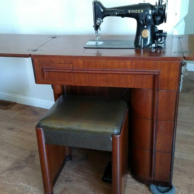 Find More Singer 40 40 Sewing Machine An Art Deco Cabinet With Best Singer Sewing Machine Model 201 Value