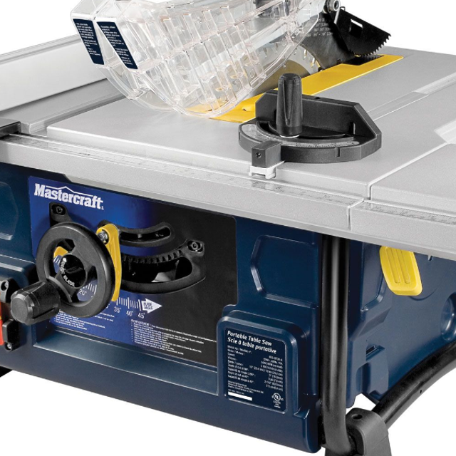 Best mastercraft portable table saw 13a new for sale in dollard mastercraft portable table saw 13a new greentooth Gallery