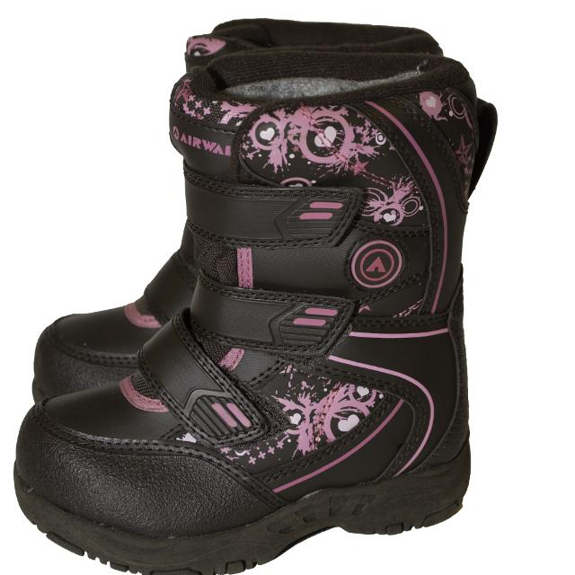 02fa0298a34b4 Best Airwalk Size 7 Baby toddler Girl Winter Snow Boots for sale