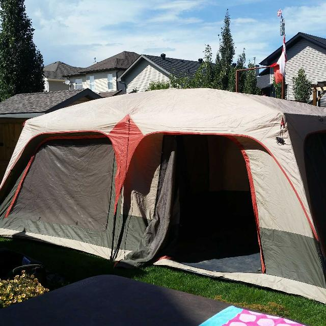 find more quest 4 room tent 18ft x 10ft for sale at up to 90 off