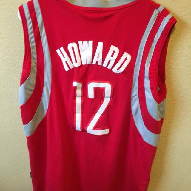 official photos 2e7ad f1cd0 Houston Rockets Basketball Jersey Adidas #12 Dwight Howard Size Medium M  Official Product NBA Team Apparel Length +2