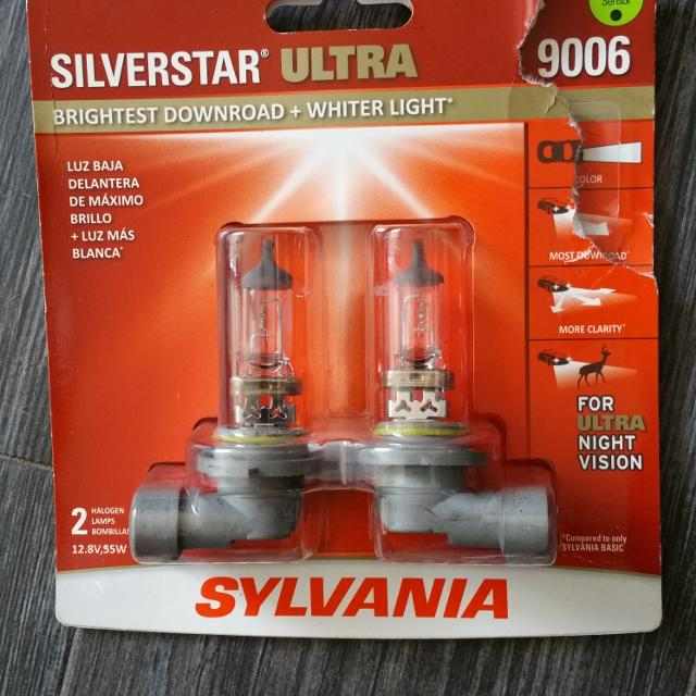 Best Sylvania Hb4 U 9006 Headlight Bulbs 2 For Sale In Clifton New Jersey 2019