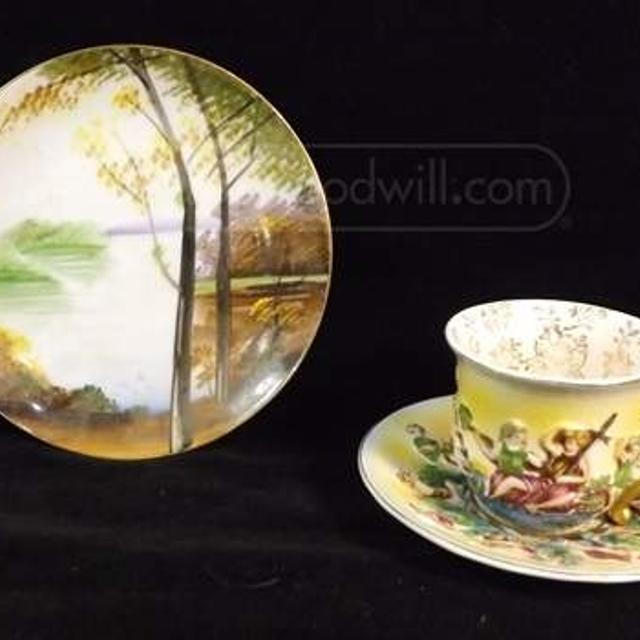 Lot of (3) Made in Occupied Japan Tea Cup/Saucers