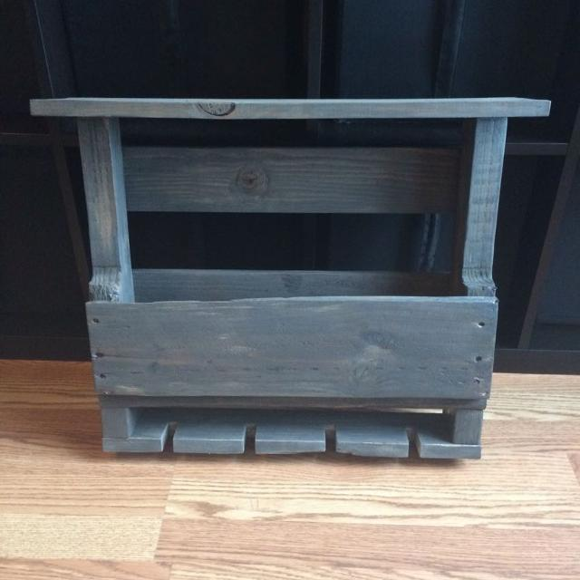 Custom Pallet Wine Racks