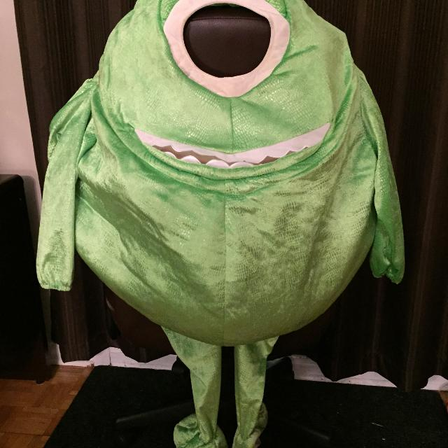 Find More Disney Store Monsters Inc Mike Wazowski Full Body Costume Size 2 4t For Sale At Up To 90 Off