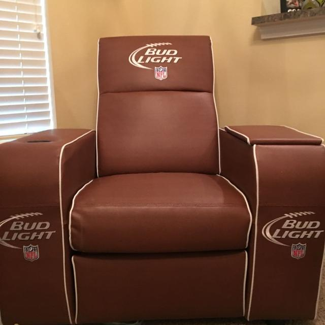 Find More Budlight Nfl Recliner For Sale At Up To 90 Off