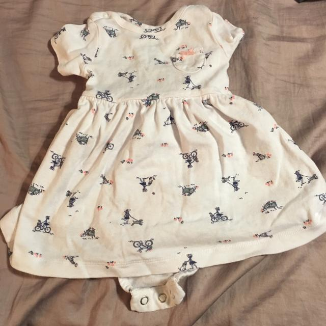 80caaa714 Best Carters Short-sleeved Onesie-dress - Like New Condition Final Price  Drop $3 for sale in Peoria, Illinois for 2019