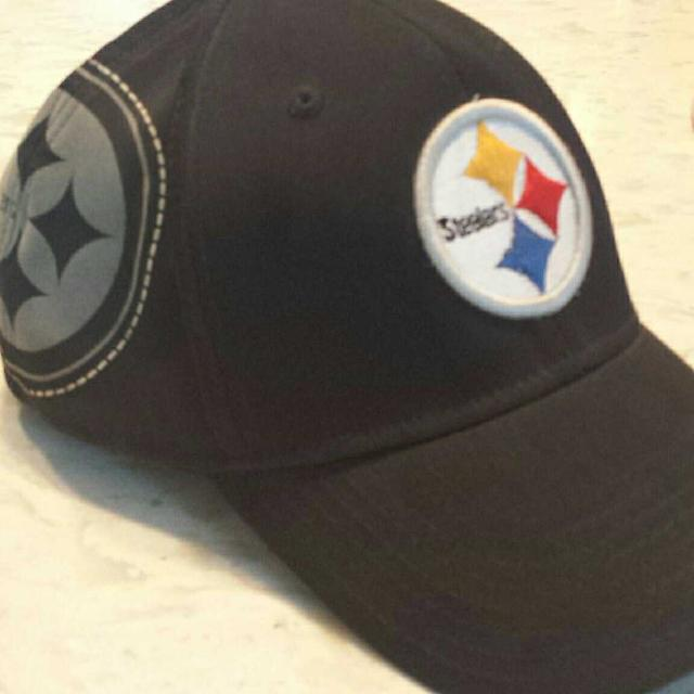07d3c2ccd22b4 Find more Euc  Pittsburgh Steelers Flex Fit Hat  Size Large extra ...