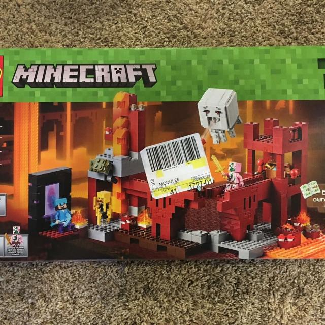Lego Minecraft The Nether Fortress set#21122