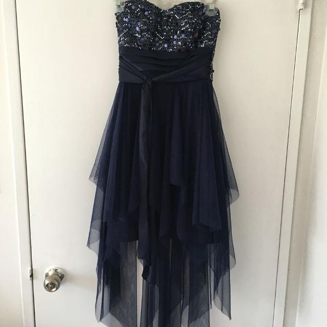 Find More Navy Blue Le Chateau Formal Dress With Sequence For Sale