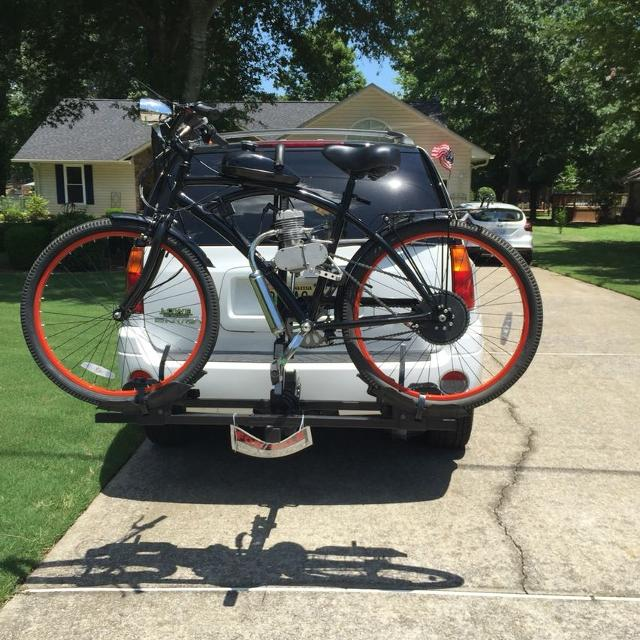 Gas powered bike for sale 65 miles on tank of gas 35 miles per hr  Great  for college