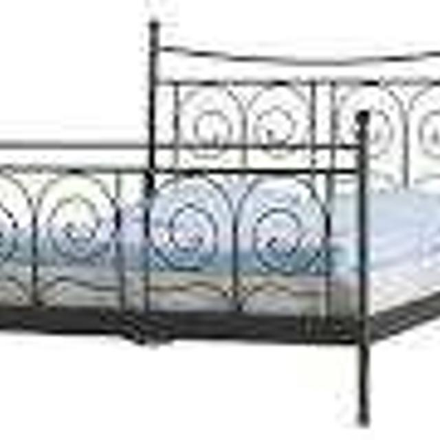 Best Ikea Noresund King Sized Metal Bed Frame For In New