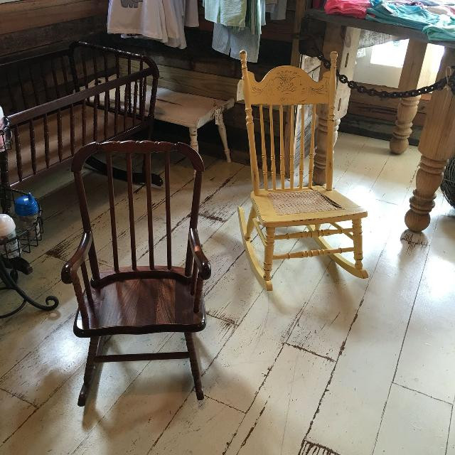 Jenny Lind rocking chair and antique nursing rocker - Best Jenny Lind Rocking Chair And Antique Nursing Rocker For Sale In