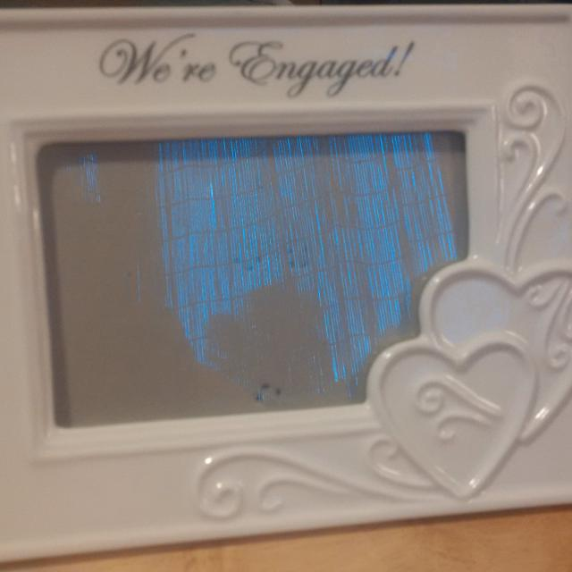 Find More Brand New Were Engaged Ceramic Photo Frame For Sale At