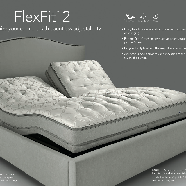 sleep number flexfit 2 adjustable base like new - Adjustable Beds For Sale 2