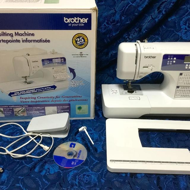 Find More Brother Cp 40 Machine Was Dropped Motor Works Good Delectable Brother 2410 Sewing Machine