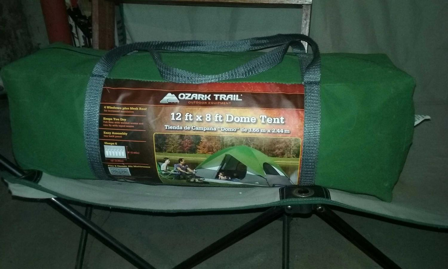 Ozark Trail 12×8ft dome tent